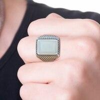 2019 г., Акционная распродажа мальчиков Анель Masculino кольца Anillos Хотан S925 инкрустированные с мужской кольцо кормильцев подарочный сертификат