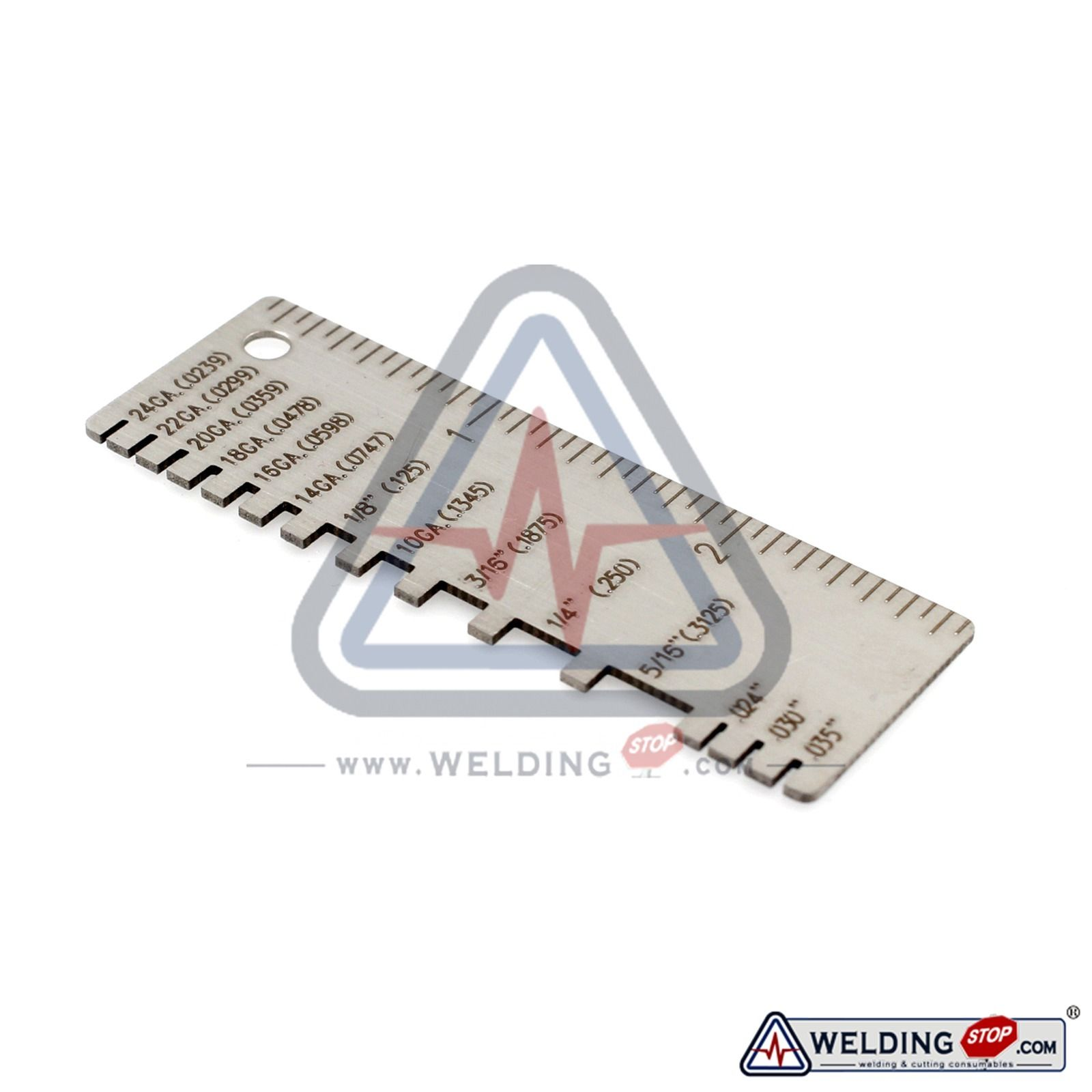 Wire/Metal Sheet Thickness Gauge 229895 Welding Gage Plated Size ...