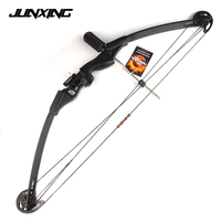 30 40lbs Archery Compound Bow for Youth Adult Outdoor Hunting Shooting Fishing Target Practice Sport Games Slingshot Bow Set