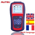 Original Autel Autolink AL419 OBD2 Code Reader TFT color display OBD2/CAN Scan Tool al419 with Spanish/French free online update