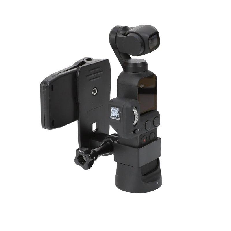 Backpack Clip For Dji Osmo Pocket Camera Stand Expansion Bracket Mount Adapter Pockrt Osmo Frame Handheld Gimbal Accessories