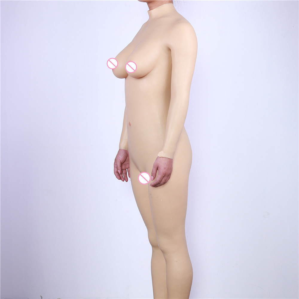 C E Cup Liquid Silicone Fillers Fake Silicone Breast Forms False Boobs For Crossdresser Cosplay Transvestite Shemale Transgender