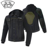 SSPEC Motorcycle Jacket Summer Breathable Men's Motocross Off Road Jacket Mesh Moto Racing Jacket Motorcycle Protective Clothing