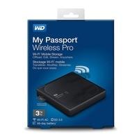 Western Digital Pro Portable External Hard Drive WD 2TB 3TB 4TB My Passport Wireless WiFi USB 3.0 battery (up to 10 hours)
