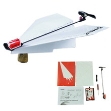 HOT Power up electric paper plane airplane conversion kit fashion educational toys AUG 29