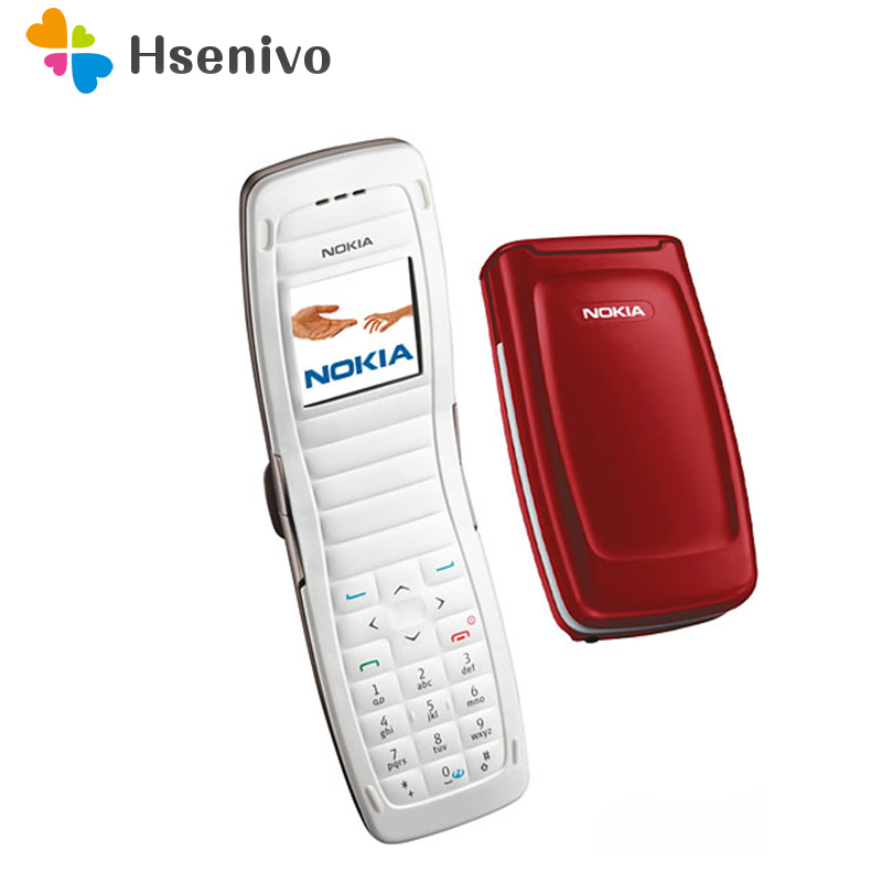 2650 100% Original Unlocked Nokia 2650 Flip 1.2' inch GSM mobile phone 2G phone with one year warranty free shipping
