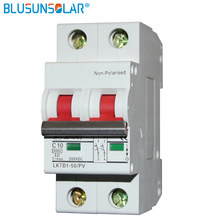 1piece/lot 2P DC Mini Isolator Switch Icu 6KA DC500V MCB Solar energy pv solar dc switch dc controller DC Circuit Breaker