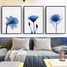 Modern Blooming Flowers In The Evening Canvas Painting Art Print Poster Picture Home Decoration Iiving Room Decoration OT066 поло print bar watchtower in evening