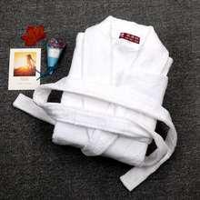 Мужские халаты мужские толстые хлопковые размер xxl белая махровая