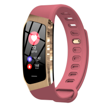 Creative E18 smart watch color screen heart rate blood pressure sports step counter drinking water alarm reminder Bluetooth