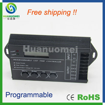5channel 20A Time Setup Program Led Controller Proramable TC420 Led Lighting  Time Controller In RGB Controlers From Lights U0026 Lighting On Aliexpress.com  ...