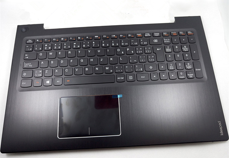New Original for Lenovo U530 U530P Palmrest Upper Cover Top Case + UK Keyboard Backlit+ Touchpad
