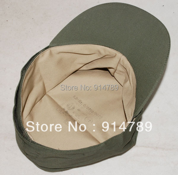 WWII GERMAN ARMY EM SUMMER PANZER M43 FIELD COTTON CAP SIZE M-32512