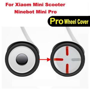 Image 1 - Xiaomi Mini Scooter Wheel Cover Wheel Hub Mini Pro Cap Engine Cover for Xiaomi Mini Pro Balance Electric Scooter Accessory