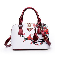 NIBESSER Printed Bags For Women 2018 Designer Bags Famous Brand Women Shopper Bag Shell Elegant Floral Shoulder Luxury Handbags