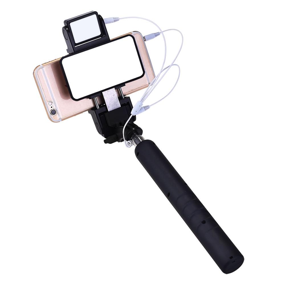 Mini dilanjutkan pegang tangan monopod berwayar cermin diri sendiri - Kamera dan foto - Foto 4