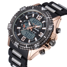 Top Luxury Brand MODEL S8004 STRYVE Watches Men 3ATM Wateproof Men's Quartz Analog Digital watches Men Hot Sales Sports Watches