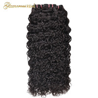 Malaysia Water Wave Bundles 100% Human Hair Weave Bundles Natural Color Hair Extensions Remy Hair 3 Pieces per Package For Women