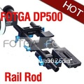 NEW Fotga DP500 System DSLR rail rod support 15mm for follow focus 5D II 7D 600D D7000 Wholesale
