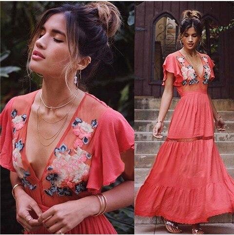 a4b39381dcd Nouveau-2018-ROYAUME-UNI-Marque-Vestidos-feminino-Femme-t-taille-Haute -P-tale-manches-col-V.jpg