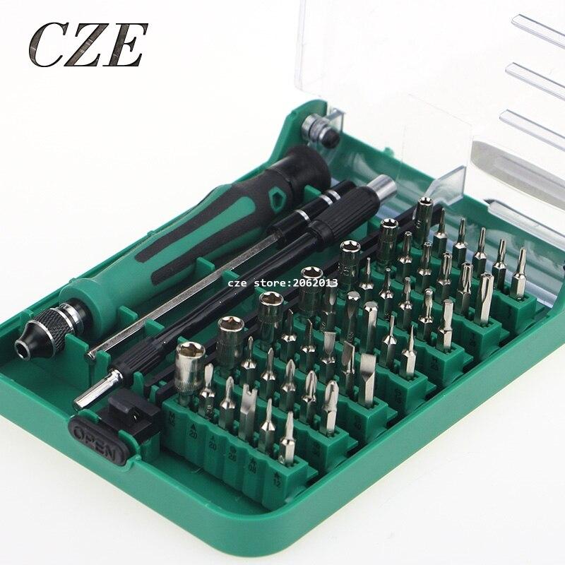 Trasporto Libero Brevetti di Design Set Cacciavite Magnetico 45 In 1 set Cacciavite di Precisione Strumenti di 9002/9001 Con Pinzette