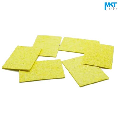 20Pcs 49 * 34mm Spugna detergente per saldatura ad alta temperatura per saldatura a condensazione resistente ad alta temperatura