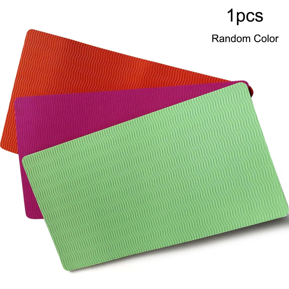 Yoga Mat Knee Pad Cushion Wrist Elbows Two-color Gym Knee Protector Yoga Accessories Workout Pad Non-Slip Yoga Knee Mat