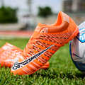 Повседневная Детская футбольная обувь; детские кроссовки для подростков; футбольная обувь; летние дышащие кроссовки на шнуровке; Chaussure Enfant
