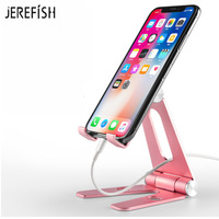 Universal 270 Degree Multi-Angle Rotatable Aluminum Alloy Stand Phone Holder Desk Cradle Desk Tablet Stand for all Phones