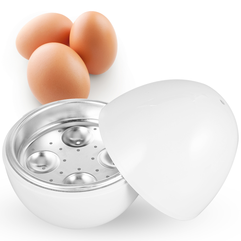 Egg Steamer Microwave Oven Supplies Cooker Tool Z35