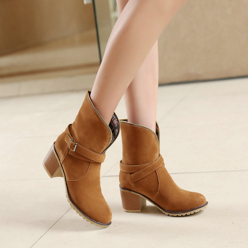 Compare Prices on Slouchy Suede Ankle Boots- Online Shopping/Buy ...
