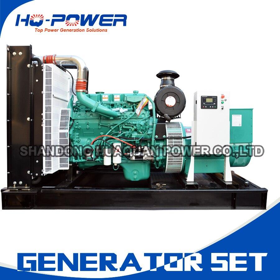 powerlink generator 400kw 500kva large open frame generating