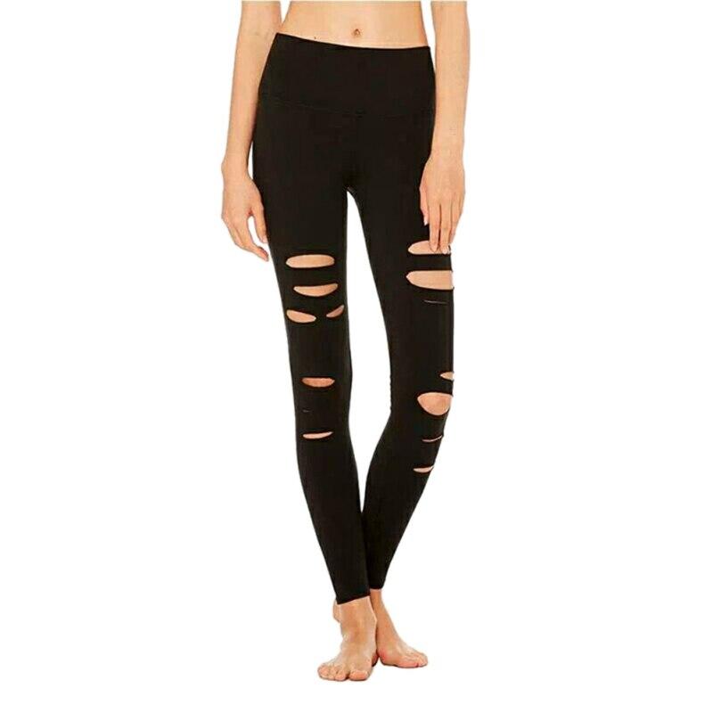 High waist workout leggings women plus size seamless long leggins casual pants sexy hollow out black mesh leggings f3