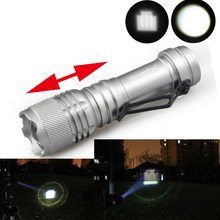 Mini 3-MODE 7W 2000LM CREE Q5 LED ZOOMABLE Zoom AA 14500  Flashlight Torch Light