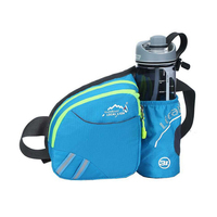 Unisex Multi Function Running Waist Bag Pack Outdoor Sports Fitness Jogging Running Cycling Belt Bags For