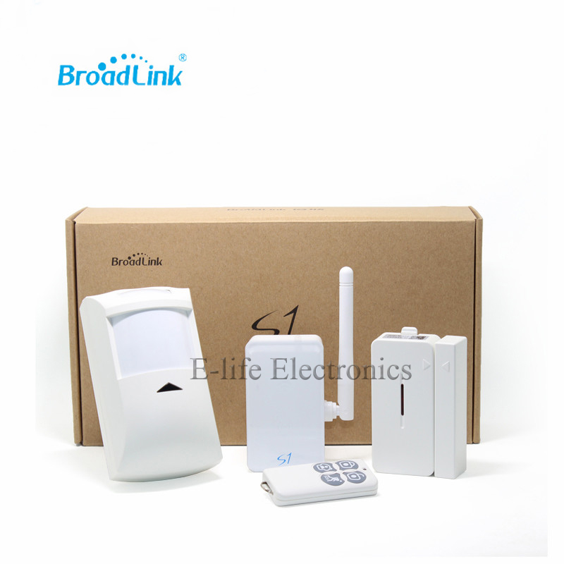 Hot Sale Broadlink S1C SmartOne Kit Alarm Security Kit For Smart Home Alarm System IOS Android