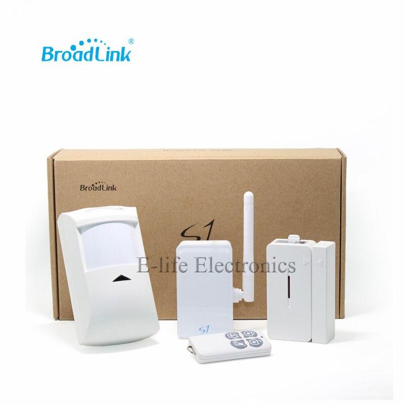 Offre spéciale Broadlink S1C SmartOne Kit, alarme et Kit de sécurité pour système d'alarme maison intelligente IOS Android téléphone télécommande