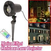 Nieuwjaar Kerstversiering Voor Thuis 2016 Kerst Laser Projector Dubbele Kleur Motion Douche Met Afstandsbediening Waterdichte IP44