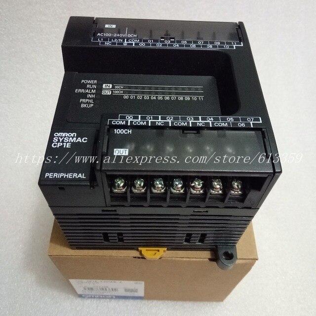 CP1E E20SDR A 新オリジナルオムロン PLC CPU AC100 240V 入力 12 点リレー出力 8 点なし rs232