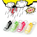 2016 New Electric Shock Joke Tricky Funny Toy Shock Shoes Keychain with Laser for Toys Gift 2 pieces/lot