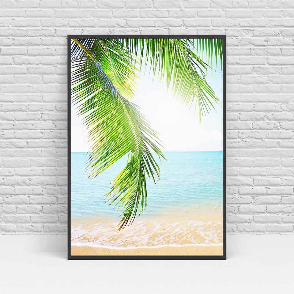 الشمال جدار الفن المناظر البحرية و الأشجار حائط لوح رسم الصور ل غرفة المعيشة الاسكندنافية الملصقات والمطبوعات-PH466