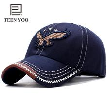 Autumn Winter New Fashion Baseball Hat Plaster Embroidery Hawk Cotton Wonen Mens Sport Caps Dad Hats Outdoor Casual Snapback