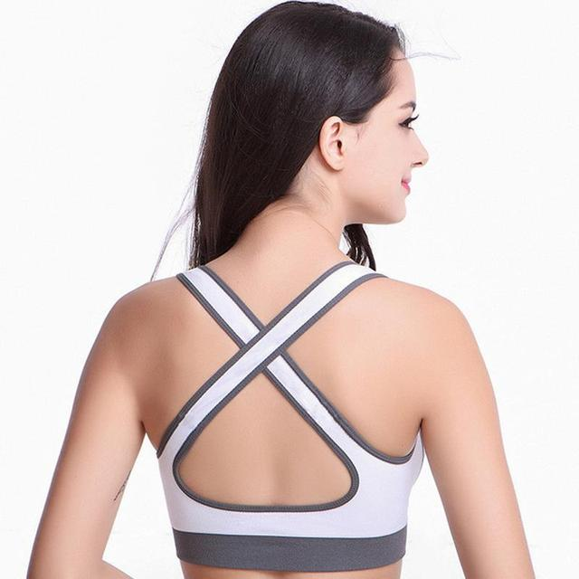 High Stretch Breathable Sports Bra Top
