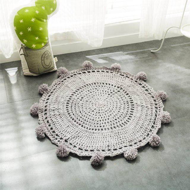 Tienda Online Envío Gratis ganchillo alfombra alfombras redondas ...