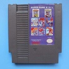 Nouvelle Arrivée Megaman 8 En 1 Carte de Jeu Pour 72 Broches 8 Bit Jeu Lecteur