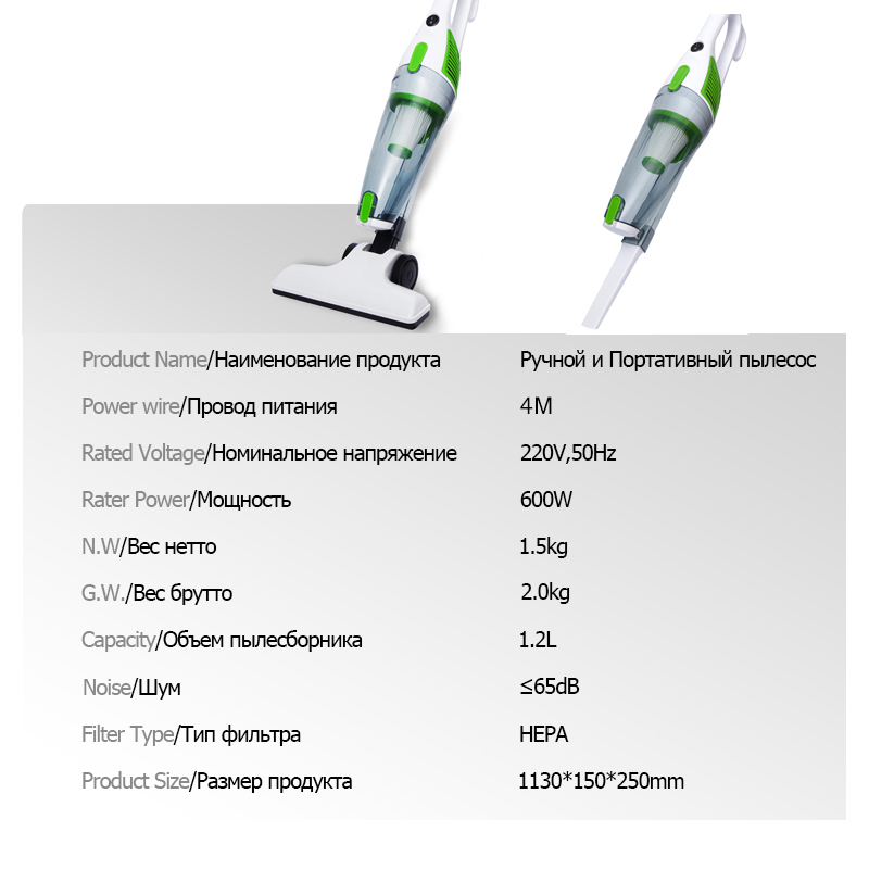 Image 2 - TINTON LIFE Ultra Quiet Mini Home Rod Vacuum Cleaner Portable Dust Collector Home Aspirator Handheld Vacuum Cleaner-in Vacuum Cleaners from Home Appliances