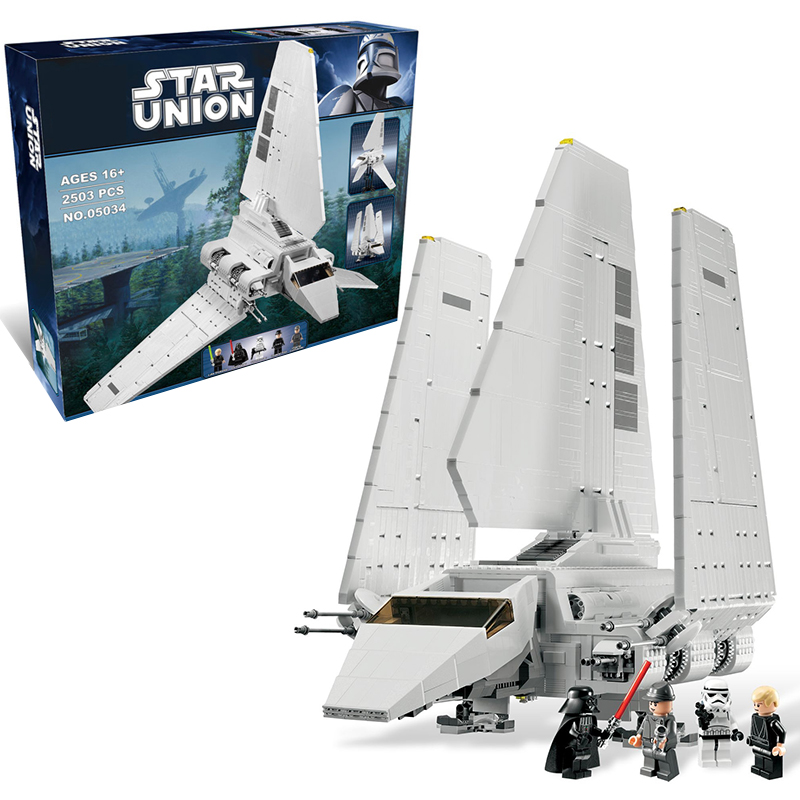 Lepin 05034 Star Wars Imperial Shuttle building bricks blocks Toys for children Game Weapon Compatible with Decool Bela 10212 lepin 02012 city deepwater exploration vessel 60095 building blocks policeman toys children compatible with lego gift kid sets