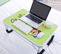 Portable Folding Laptop Notebook Table Desk Adjustable Laptop Stand Desk Picnic Camping Folding Table With Handle