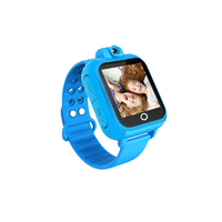 3G net work 1.54 touch screen video call kids gps watch with free shipping