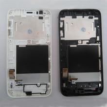 Продажа Для HTC Desire 510 одной сим-полный Сенсорный экран планшета Панель Стекло Сенсор + ЖК-дисплей Дисплей Панель Экран сборки + Рамки